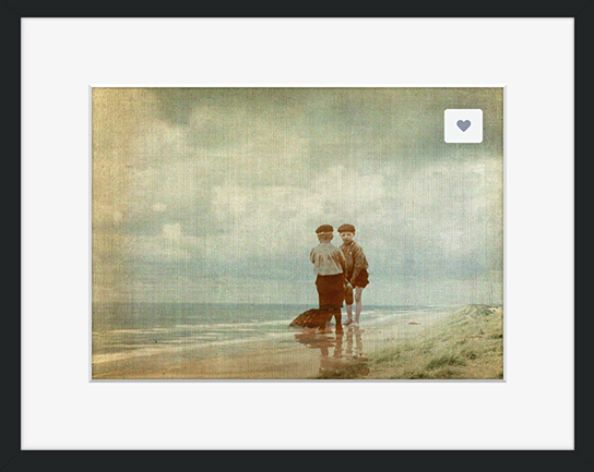 Buy a framed print of Looking for Fossils © Sarah Vernon at my Crated gallery