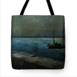 Bound for Santiago Tote Bag © Sarah Vernon