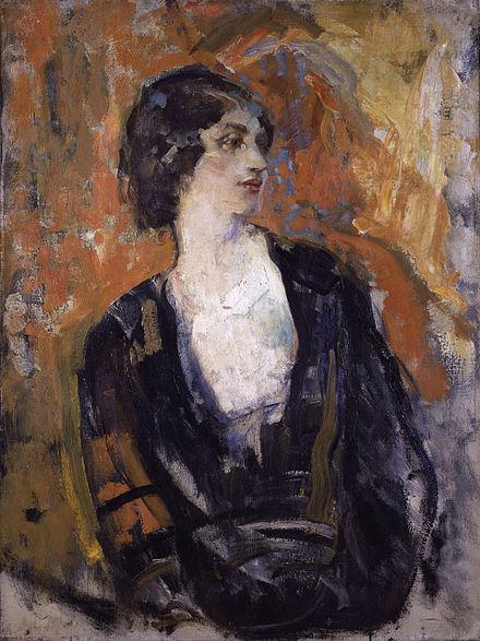 Portrait of Lillah McCarthy by Ambrose McEvoy, circa 1920