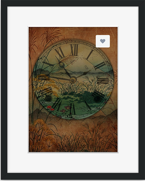 Framed print from Crated