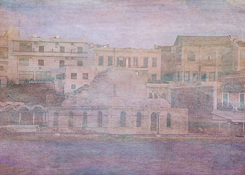 First Night Design | Venetian Harbour, Chania #Art