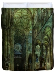 Emerald Arches Duvet Cover © Sarah Vernon