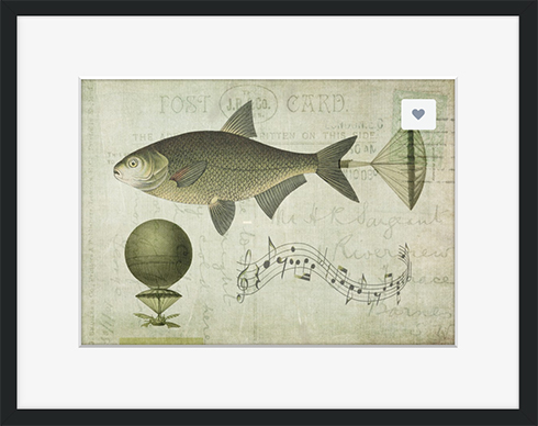 First Night Design | Flying Fish #Art #Steampunk