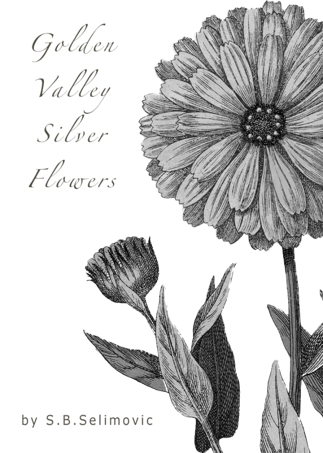 First Night Design | #PhotoRehabCoverMakeover #13 Golden Valley Silver Flowers