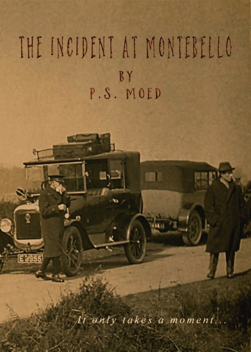 #photorehabcovermakeover Week 14; The Incident at Montebello by Patti Moed