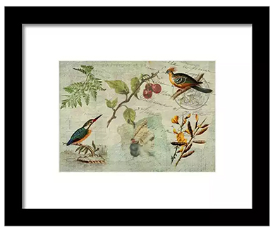 Framed print from Fine Art America