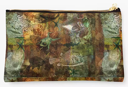Buy a studio pouch from Redbubble © Sarah Vernon