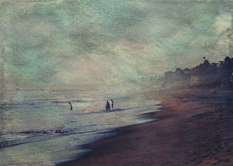 Buy Searching the Sands © Sarah Vernon At Fine Art England