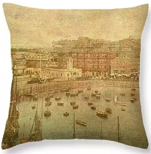 Buy Margate Translated Cushion from Fine Art England