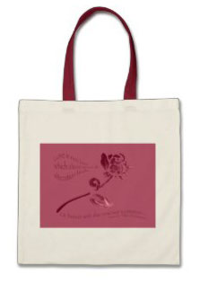 Shakespeare Valentine Tote Bag © Sarah Vernon