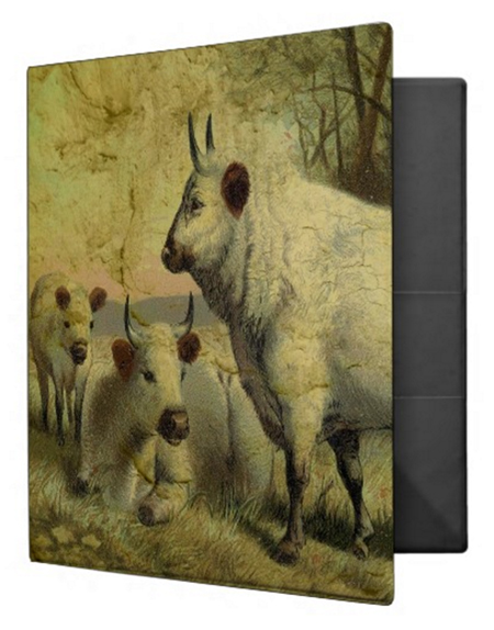 Buy The Cows Came Home Avery Binder © Sarah Vernon at Zazzle