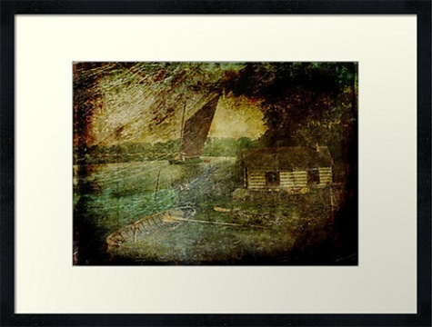 The Eel Fisher's Hut © Sarah Vernon @ Redbubble