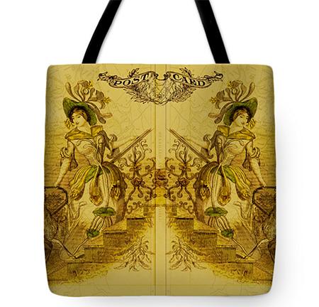 Buy Mirror Image Tote Bag @ Fine Art America © Sarah Vernon