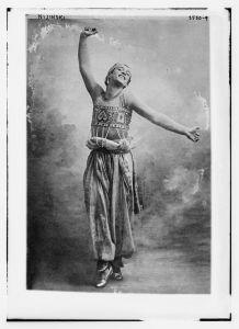 Nijinsky circa 1912 [Wikimedia]