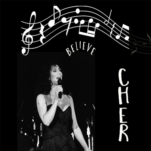 #photorehabcovermakeover Week 4 Believe - #Cher © Sarah Vernon