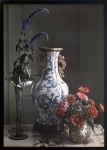 Frederick S. Dellenbaugh (American - Still Life with Ornate Chinese Vase