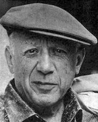 Pablo Picasso in 1962 [Wikimedia]
