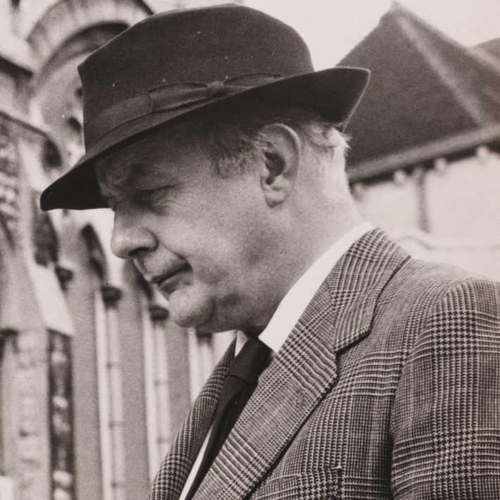 Sir John Betjeman in 1961 [Wikimedia]