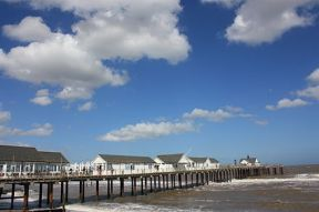 Southwold Pier in the summer sunshine [Wikipedia]