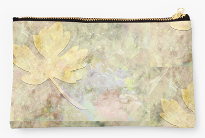 Autumn Fall © Sarah Vernon Pouches at Redbubble