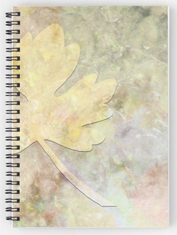 Autumn Fall © Sarah Vernon Spiral Notebooks at Redbubble