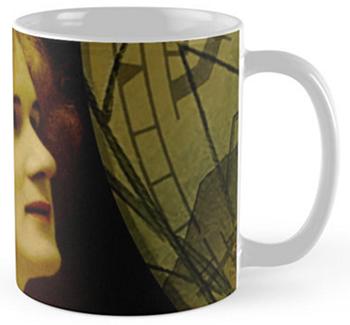 Pre-Raphaelite Beauty Mugs © Sarah Vernon