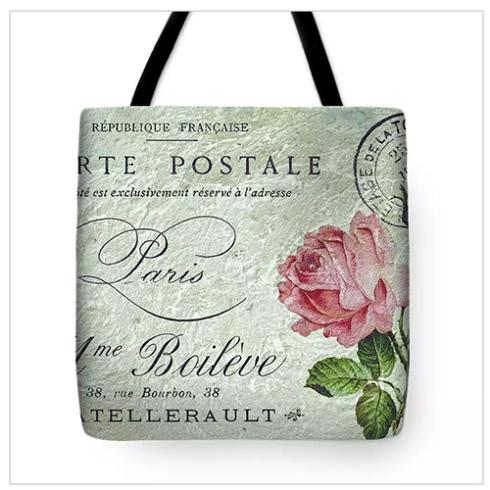 Petite Rose Confection Tote Bag © Sarah Vernon