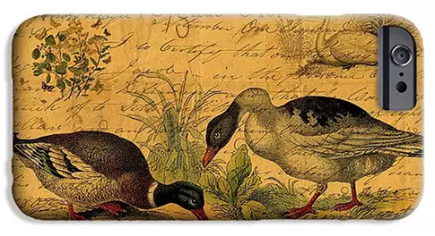 Mallards and Swan Collage Mobile Cases at Fine Art America © Sarah Vernon