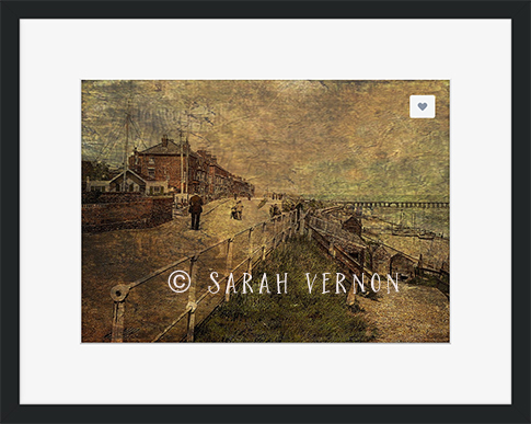 A Stroll Along the Seafront © Sarah Vernon at Crated