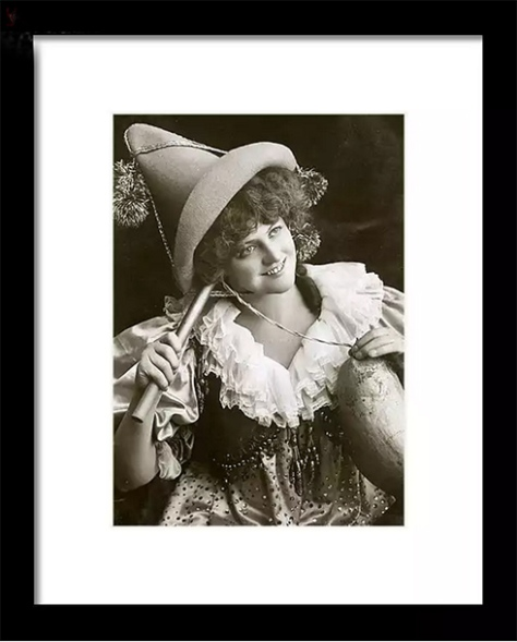 Miss Marie Studholme as Lady Madcap 1905 © Sarah Vernon at Fine Art America