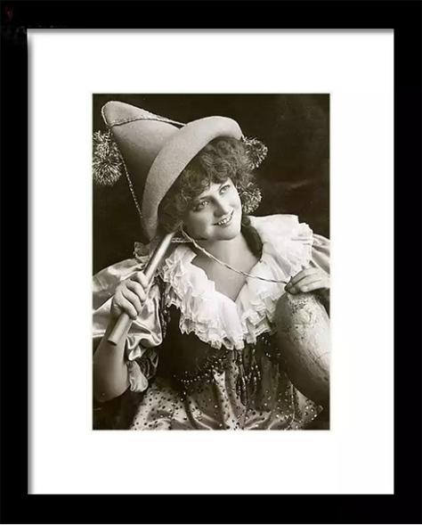 Miss Marie Studholme as Lady Madcap 1905 © Sarah Vernon at Fine Art America
