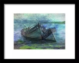 At the Water's Edge Framed Print at Fine Art America © Sarah Vernon