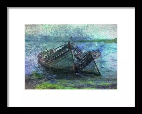 At the Water's Edge Framed Print at Fine Art America © Sarah Vernon