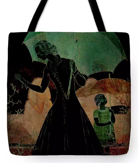 Extreme Vogue © Sarah Vernon Tote Bag at Fine Art America