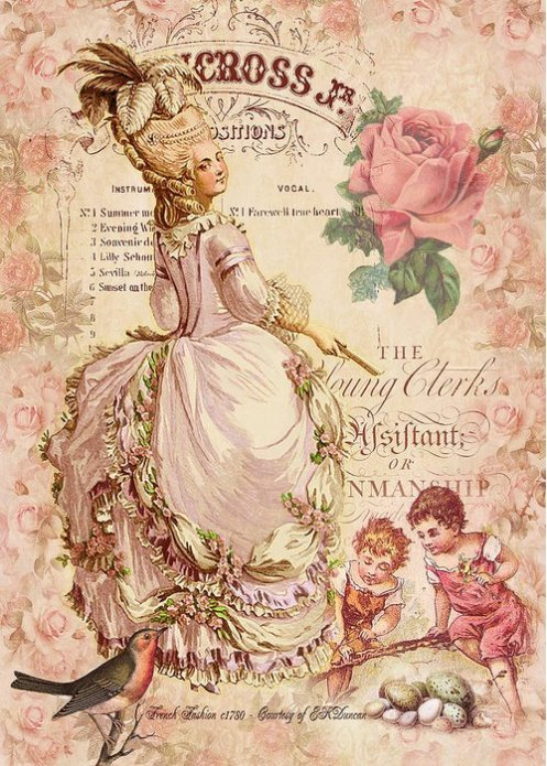 Mademoiselle couture greeting card for sale by sarah vernon sold mademoiselle couture greeting card for sale by sarah vernon our premium stock greeting cards are 5 x 7 in size and can be personalized with a custom m4hsunfo