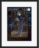 Une Valentine parisienne © Sarah Vernon Framed Print at Crated