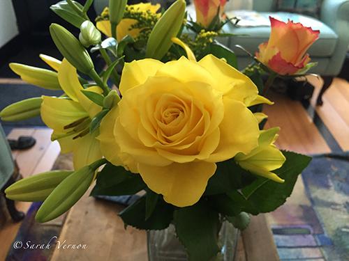 Yellow Bouquet © Sarah Vernon