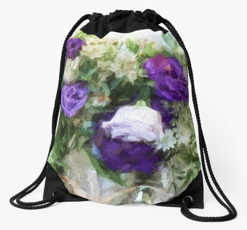 Spring Passion Drawstring Bag © Sarah Vernon