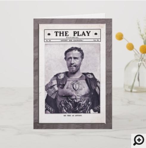 Antony and Cleopatra Greeting Card