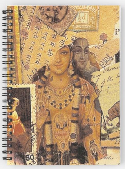 Indian Glories Spiral Notebook © Sarah Vernon