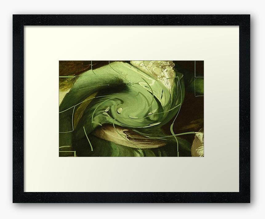 Mint Julep © Sarah Vernon - Framed Print from Redbubble