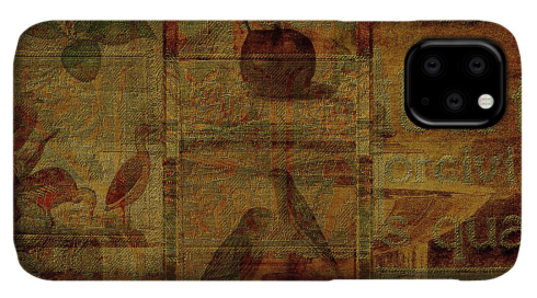 Screen Gold iPhone Case from Fine Art America
