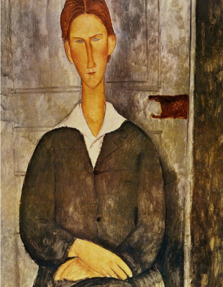 Portrait of a Young Man - Amedeo Modigliani Poster