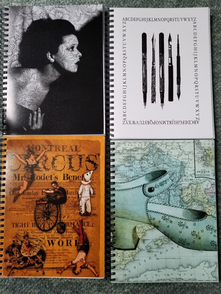 Spiral Notebooks sold by Redbubble