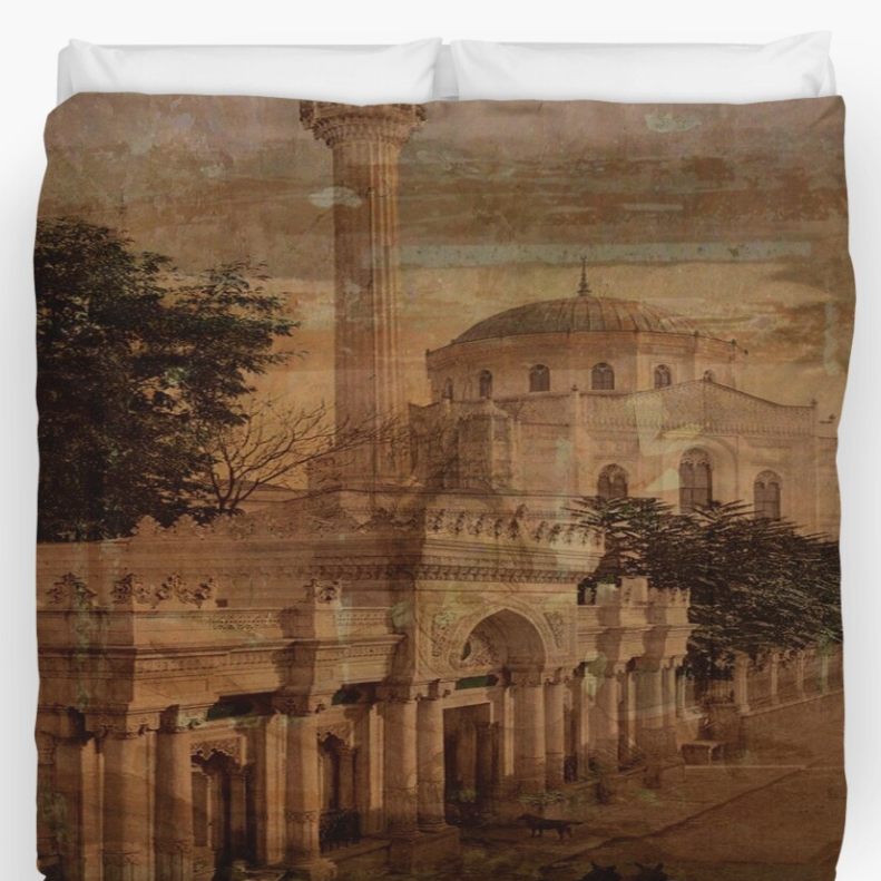 Constantinople King Size Duvet Cover @ Redbubble