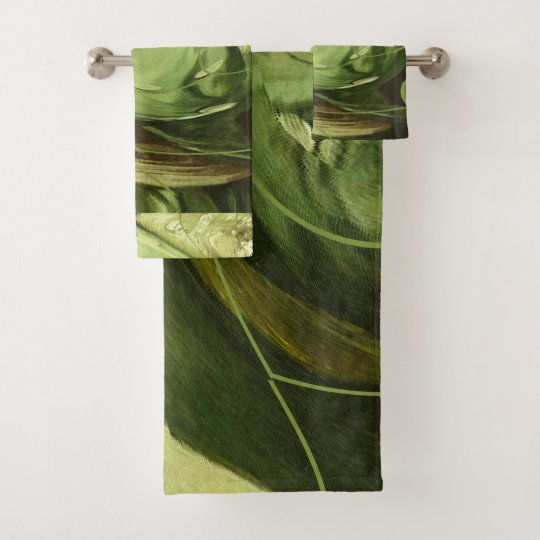 Mint Julep Bath Towel Set