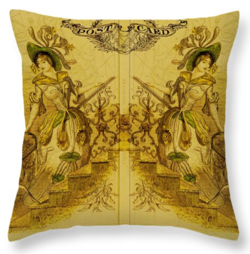 MIRROR IMAGE CUSHION FROM REDBUBBLE