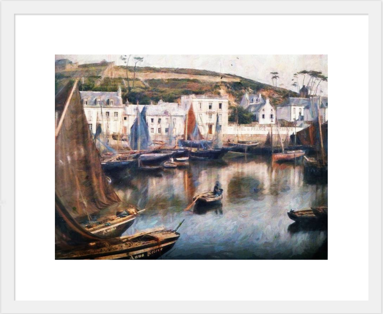 Harbour a Conceit framed print at Fine Art America © Sarah Vernon