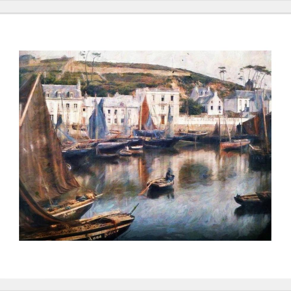 Harbour a Conceit framed print at Fine Art America © Sarah Vernon